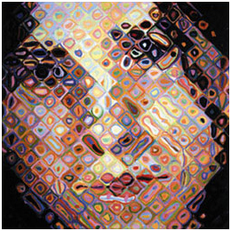 Chuck Close 2 Maggie