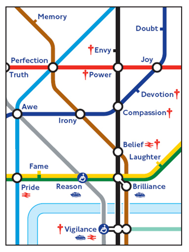 London Tube Graphic Design