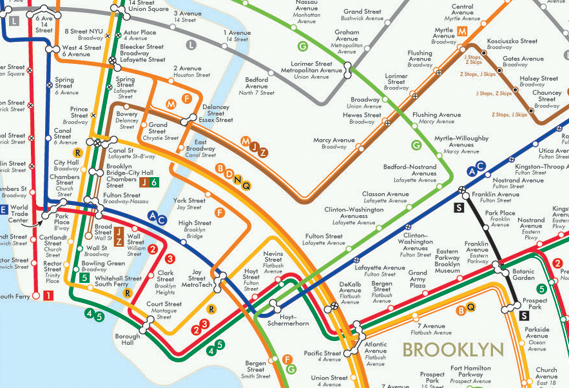 Subway Map Graphic Design.New Subway Map For Nyc Graphic Design
