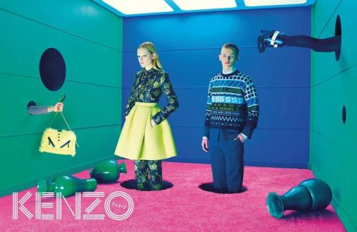 Image result for David LaChapelle campaign for Kenzo