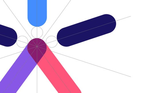 NCB logo design process by Lantern